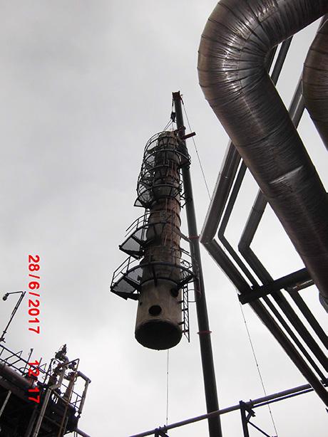HOFFLAND BV - RDAM - Botlek - destillatietoren