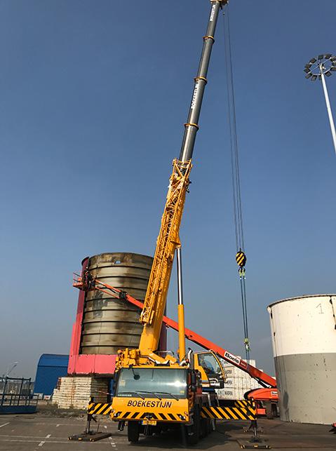 Hoffland bv - Den Dolder - Vlissingen - MNS-EN toren - portfolio