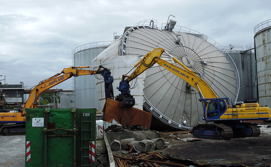 Hoffland BV | Den Dolder | Industriële sloopwerken en metaalrecycling
